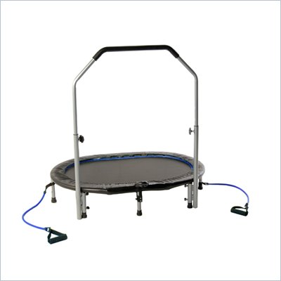 Avari by Stamina Oval Trampoline w/ handlebar