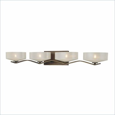 Minka Lighting Eclante 4 Light Bath Minka Lavery in Eclante Patina Bronze with Eclante Pearl Glass