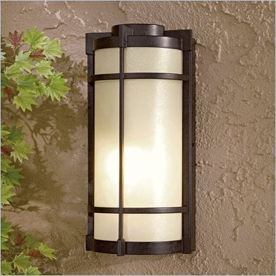 Minka Great Outdoors Collection 1 Light Outdoor Wall Mount