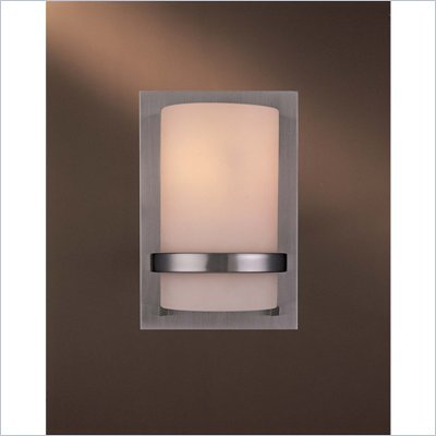 Minka Lighting Lavery 1 Light Wall Sconce with Etched Opal Glass