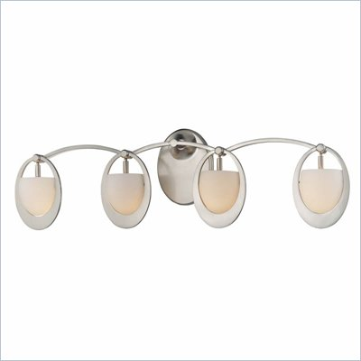 George Kovacs 4 Bath Light in Brushed Nickel