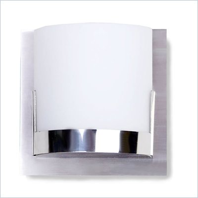 George Kovacs 1 Light Wall Sconce in Chrome with