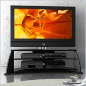 Sonax Florence Contemporary 47-64 Inch Flat Panel TV Stand in Black Lacquer
