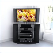 Sonax Rio Black TV Stand for 32-42 Inch Flat Panel Plasma/LCD TVs