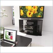 Sonax Rio Black TV Stand for 37-52 Inch Flat Panel HD TVs