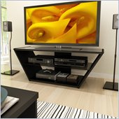 Sonax Venice 54 TV Stand in Midnight Black