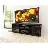 Sonax Fiji TV Stand and Component Bench in Urban Maple
