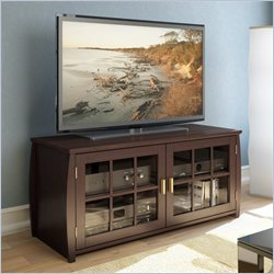 Sonax by CorLiving Washington Bay Wood TV Stand and Bench in Espresso