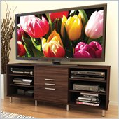 Sonax Sedona TV Stand and Component Bench in Ebony Pecan Finish