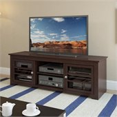 Sonax West Lake TV Stand in Dark Espresso