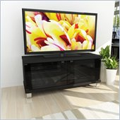 Sonax Holland 44 TV Component Bench in Midnight Black