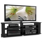 Sonax Fillmore 58 Midnight Black TV Component Stand