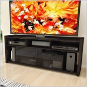 Sonax Granby 60 TV Gaming Console Bench in Ravenwood Black