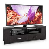 Sonax Bromley 60 TV Component Bench in Ravenwood Black