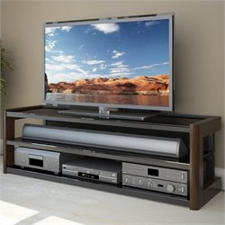 Sonax Milan 60 Quick Click Glass TV Stand