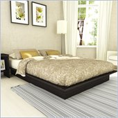 Sonax Plateau Platform Bed in Ravenwood Black