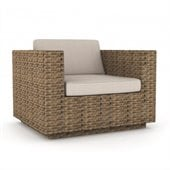 Sonax Park Terrace Chair in Saddle Strap Weave