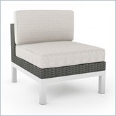 Sonax Beach Grove Armless Chair in River Rock Weave 