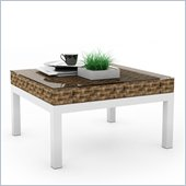 Sonax Beach Grove Coffee Table in Saddle Strap Weave