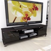 Sonax Holland 70.75 Extra Wide TV/Component Bench in Ravenwood Black