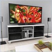 Sonax Holland 60 TV / Gaming Bench in Frost White