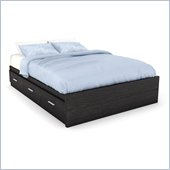 Sonax Willow Storage Bed in Ravenwood Black