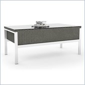 Sonax Lakeside Coffee Table in River Rock Weave