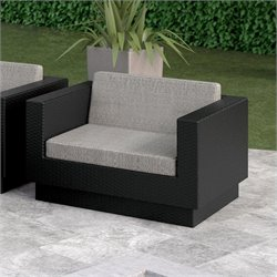 Sonax Park Terrace Chair in Textured Black
