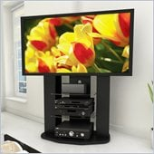 Sonax Zurich Vertical TV Stand with Mount for TV's up to 65 in Black