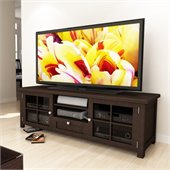 Sonax Arbutus 63 Dark Espresso Stained TV Bench in Espresso