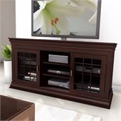 Sonax Carson 60 Wood Veneer TV / Component Stand in Espresso