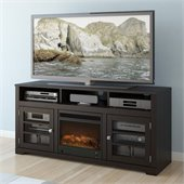 Sonax West Lake 60 Fireplace TV Stand in Mocha Black
