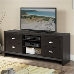 CorLiving Kansas TV Bench in Espresso Finish