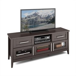 CorLiving Jackson Extra Wide TV Bench in Espresso Finish