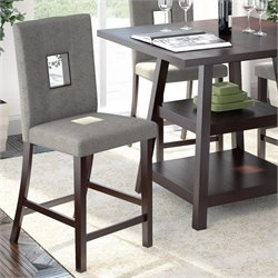 Sonax CorLiving Bistro Dining Chairs in Grey Sand (Set of 2)