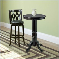 Sonax CorLiving Woodgrove Wood Bistro Table in Dark Cappuccino