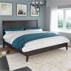 Sonax CorLiving Ashland King Bed in Dark Cappuccino