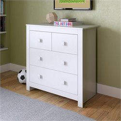 Sonax CorLiving Madison Chest of Drawers in Snow White
