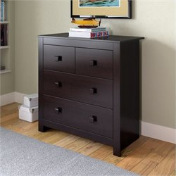 Sonax CorLiving Madison Chest of Drawers in Rich Espresso