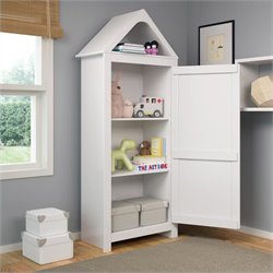 Sonax CorLiving Madison Tall Wardrobe in Snow White