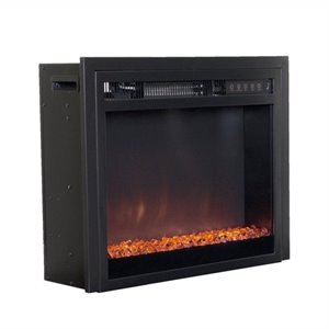 Sonax CorLiving Electric Fireplace Insert in Black