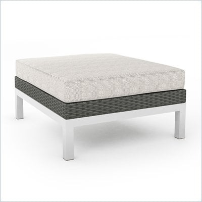Sonax Beach Grove Ottoman in River Rock Weave 