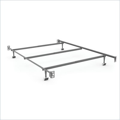 Sonax Steel Bed Frame with Headboard &amp; Footboard Attachment