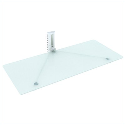 Sonax 35&quot; Wide White Component Wall Shelf