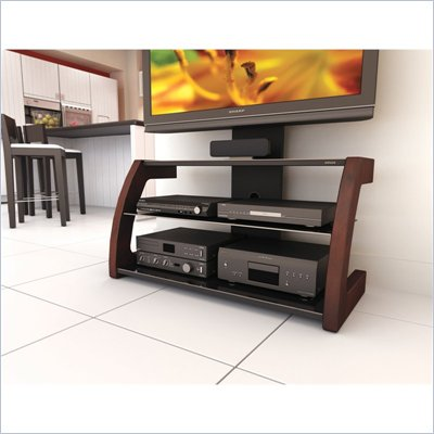 Sonax Milan Glass TV Stand with Mount