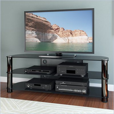 "Sonax Metal and Glass TV Stand for up to 65"" TV's"