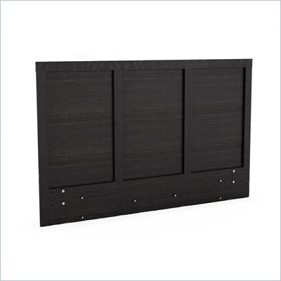 Sonax Plateau Queen / Full Platform Headboard in Ravenwood Black