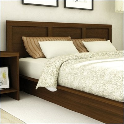 Sonax Contemporary Queen Headboard in Urban Maple