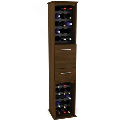 Sonax Okanagan Urban Maple Wine Cabinet