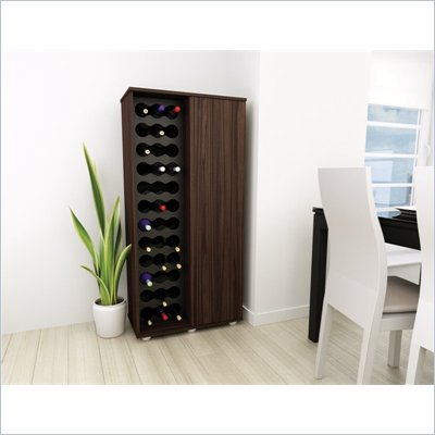 Sonax Contemporary  Ebony Pecan Wine Storage